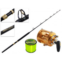 TiCA 80WTS 2-Speed and Kilwell Big Game Combo IGFA 5ft 6in 37kg 1pc