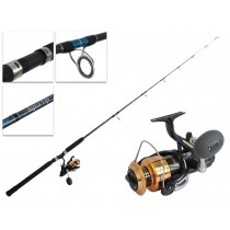Shimano 6000D Baitrunner and Aquatip Spin Combo 6ft 8-12kg