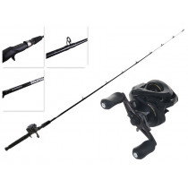 Shimano Caius 150A and Eclipse Baitcasting Combo 5ft 6in 2-5kg 2pc