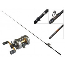 Shimano Corvalus 401 and Backbone Elite Left Hand Slow Jig Combo 6ft 6in 100-150g 1pc