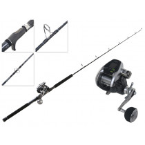 Shimano ForceMaster 3000 Power Assist and Energy Concept Electric Jigging Combo 5ft 150-250g PE2-4 2pc