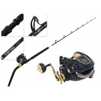 Shimano Dendou Maru 9000 and Abyss SW Bent Butt Deepwater Electric Combo 5ft 6in 60-100lb 2pc