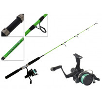 Shimano IX 2000 and Kidstix Frog Kids Spin Combo 3ft 4in 3-6kg 1pc