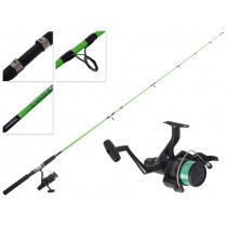 Shimano FX 4000 FB and Kidstix Green Kids Combo 6ft 2-5kg 2pc