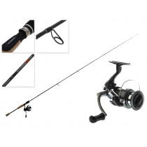 Shimano Sienna 2500 FE and Backbone Elite Trout Spinning Combo 7ft 2-5kg 4pc