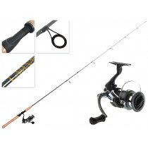 Shimano Sienna 2500 FE and Catana Trout Spinning Combo 3-5kg 2pc