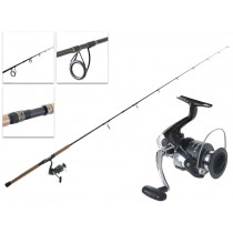 Shimano Sienna 4000 FE and Catana Softbait Combo 6ft 3in 5-8kg 2pc