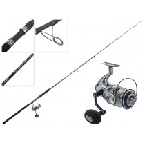 Shimano Saragosa 6000 SW and Energy Concept Spin Topwater Combo 8ft 40-70g PE2-4 2pc