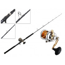 Shimano Talica 12 and Energy Concept Overhead Jigging Combo 5ft PE3-6 2pc