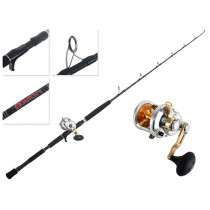 Shimano Talica 12 and  Anarchy Mechanical PE8 Overhead Jigging Combo 5ft 300-400g 1pc