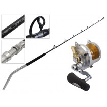 Shimano Talica 50 II and Status Bent Butt Game Combo 5ft 2in 80lb 2pc