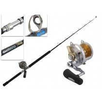 Shimano Talica 50 II and Tiagra Stand Up Rod Game Combo 37kg