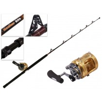 Shimano Tiagra 50 A and Backbone Elite Fully Rollered Game Combo 5'7'' 24kg 1pc