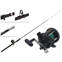 Shimano TR 100 G Harling and Eclipse Trout Trolling Combo Spooled with Leadline 6ft 4-8kg 1pc