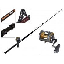 Shimano Tyrnos 50-2 Speed and Backbone Elite Game Combo 5'7'' 24kg