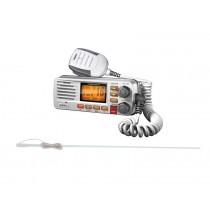 Uniden Solara VHF Radio with Pacific VHF Antenna 1.5m White