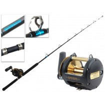 Shimano TLD-50 2-Speed and Aquatip Roller Tip Game Combo 5'8'' 24kg 1pc