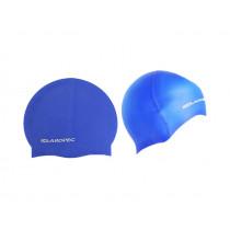 Aropec Adult Silicone Swim Cap Blue
