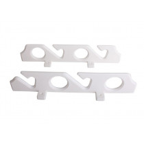 Wall Mounted Rod Rack UV Stabilised - Holds 4 Rods