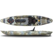 FeelFree Moken 12.5 Fishing Kayak Orange with Smart Track Rudder