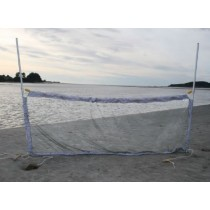 FishFighter Whitebait Drag Net with Floats and Weights 2.8m x 0.9m