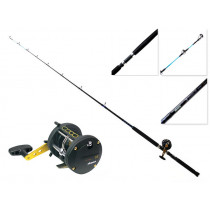 Okuma Classic XT 300 Left Hand and Cortez Overhead Boat Combo 6ft 6in 10-15kg 2pc