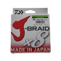 Daiwa X8 J-Braid Chartreuse