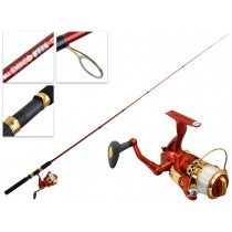 Kilwell LED Disco Stix Spinning Rod and Reel Combo 5ft 6in 6-12lbs 2pc