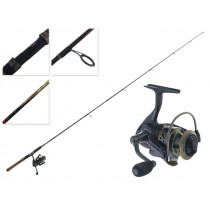 DAM Quick 620 FD Light Spinning Combo 6ft 3in 5-10g 2pc