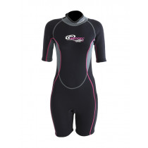 Aropec 3mm Streamline Neoprene Womens Surf Shorty Wetsuit M