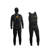 Aropec Open Cell Camouflage Mens Spearfishing Wetsuit 3.5mm 2pc