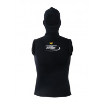 Mirage Rayzor Hooded Vest Mens Black Medium