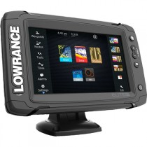 Lowrance Elite-7 Ti Touchscreen GPS/Fishfinder Mid/High/DownScan Package
