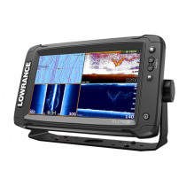 Lowrance Elite-9 Ti Touchscreen GPS/Fishfinder TotalScan Package