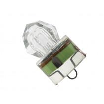 Underwater Diamond LED Strobe Light Green