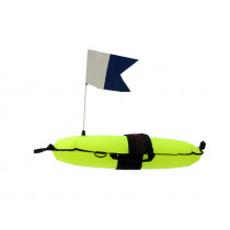 Immersed Spearfishing Inflatable Float with Flag 18L
