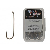 Black Magic Series B Fly Hooks 30 Piece Pack