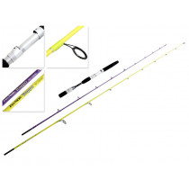 Fin-Nor 763 Troppo Stick Interchangeable Twin Spinning-Baitcast Rod 6-7ft 3pc