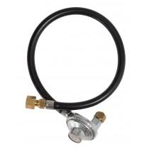 Gasmate 2.0KG Companion LPG Regulator with 600mm Hose