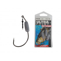 Mustad Power Lock Worm Hook Jig Heads Qty 3