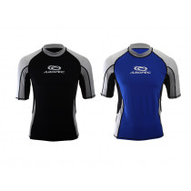 Aropec Star Lycra Mens Short Sleeve Rash Top XS-M