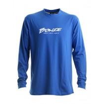 Bonze Pro Long Sleeve T-Shirt Blue