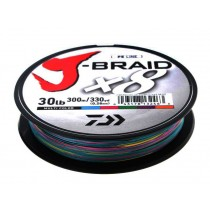 Daiwa X8 J-Braid Multi-Colour