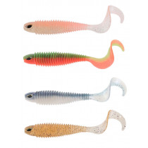 Chasebaits Curly Soft Bait 4in