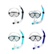 Mirage Freedom Silicone Mask and Snorkel Set