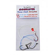 Captain Hook Gangbuster 3-Hook Strayline Rig