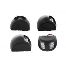 LED Navigation Lights Black Housing 3 x 0.5W