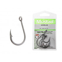 Mustad Hoodlum Z-Steel Live Bait Hooks 8/0 Qty 3