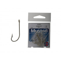 Mustad 2330DT Kirby Sea Hook Pack Qty 10