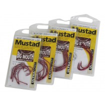 Mustad 37753NPNP Wide Gap Big Mouth Hooks